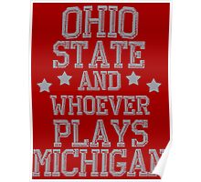 Ohio State Is #1 Poster