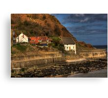 Runswick Bay - North Yorkshire #1 Canvas Print