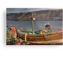 Runswick Bay - North Yorkshire #2 Metal Print