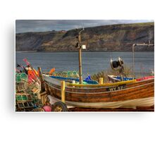 Runswick Bay - North Yorkshire #2 Canvas Print