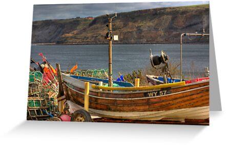 Runswick Bay - North Yorkshire #2 by Trevor Kersley
