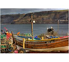 Runswick Bay - North Yorkshire #2 Photographic Print