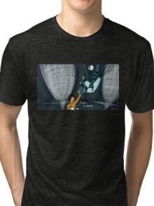 Dan And Glados Tri-blend T-Shirt