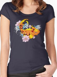 Satans Koi Women's Fitted Scoop T-Shirt