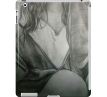 Detailed Female Sketch  iPad Case/Skin