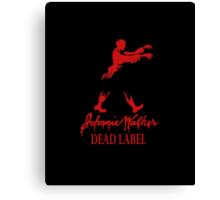 Johnnie Walker Dead Canvas Print