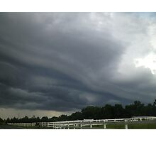 The Brewing Storm  Photographic Print