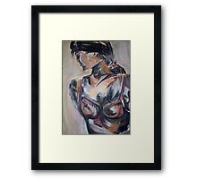 Figure Study Framed Print