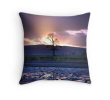 Pastel Tree Throw Pillow