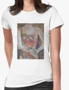 Figure Study Womens Fitted T-Shirt