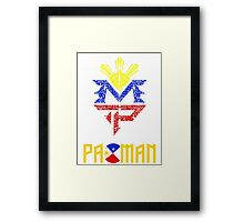 Pacquiao - King of Boxing Framed Print
