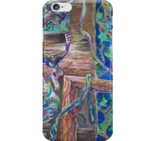 Abstract Vines iPhone Case/Skin