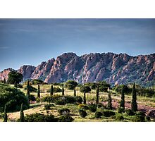 Cap Esterel ,France Photographic Print