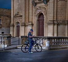 Gozo Cycler by Edwin  Catania