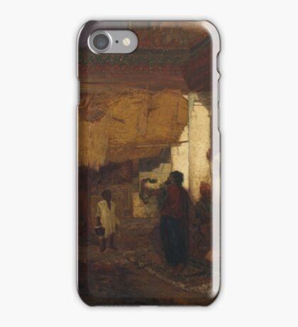 Louis Comfort Tiffany  - Snake Charmer at Tangier iPhone Case/Skin