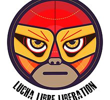 Lucha Libre Liberation (Gonzalez) by Richard Rabassa