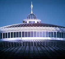 Moon Over Kibble Palace by Ward McNeill