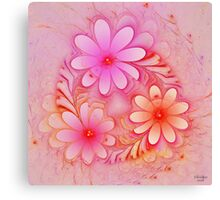 'Ring of Posies' Canvas Print