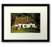 Abbey Cottage Framed Print