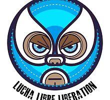 Lucha Libre Liberation (Reyes) by Richard Rabassa