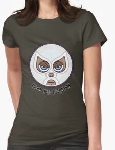 Lucha Librew Liberation (El Santo) Womens Fitted T-Shirt