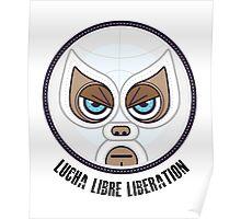 Lucha Librew Liberation (El Santo) Poster