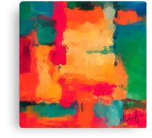 Casa Blanca-Abstract Canvas Print