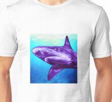Purple Shark Unisex T-Shirt