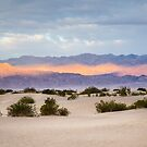 Burning Sunrise in Death Valley by Robert Kelch, M.D.