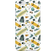 Skate life pattern  iPhone Case/Skin