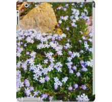 Spring Purple flowers, floral art, impressionism iPad Case/Skin