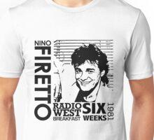 Radio West Breakfast - Six Weeks in 1981 Unisex T-Shirt