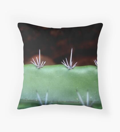 Sensitive Nature Throw Pillow