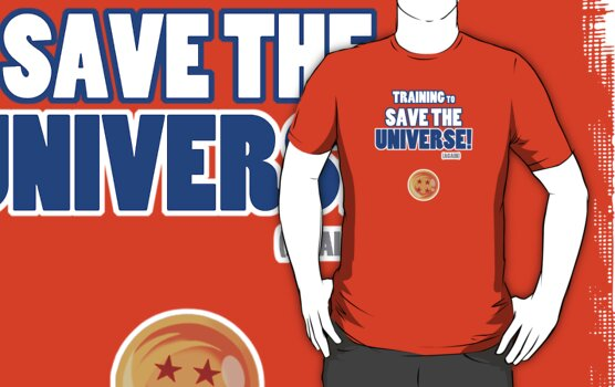 Goku - Training to Save the Universe! (Blue) by Cosmodious