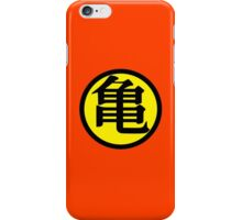 Goku Symbol Yellow (Front) iPhone Case/Skin