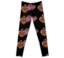sailor moon power make up black  Leggings