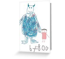 Sully by Boo Greeting Card