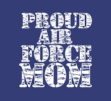 PROUD AIR FORCE MOM Womens T-Shirt