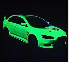 Mitsubishi Lancer Evolution X Photographic Print