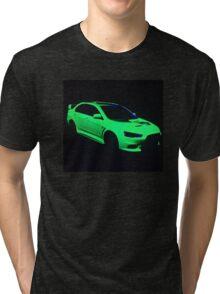 Mitsubishi Lancer Evolution X Tri-blend T-Shirt