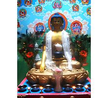 The Buddha in the Temple Photographic Print