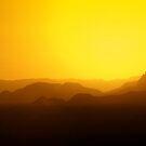 Sunset - Rum Valley by Sharif Ajez