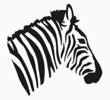 Zebra head Kids Clothes