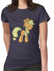 Apple Jack Womens Fitted T-Shirt
