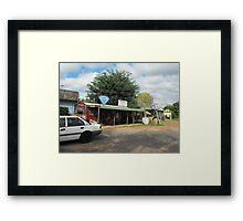 A Gemfields Store Framed Print