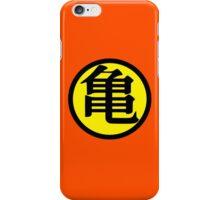 Goku Symbol Yellow (Back) iPhone Case/Skin