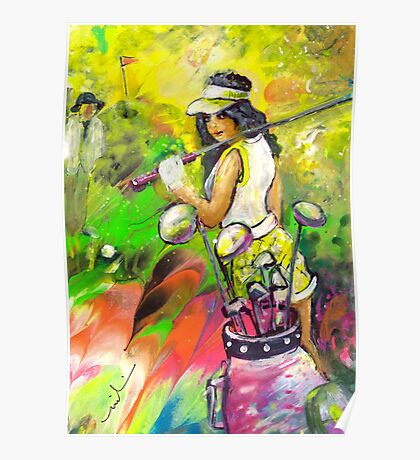 Lady Golf 05 Poster