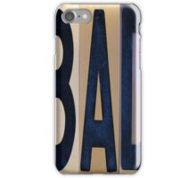 BAD  iPhone Case/Skin