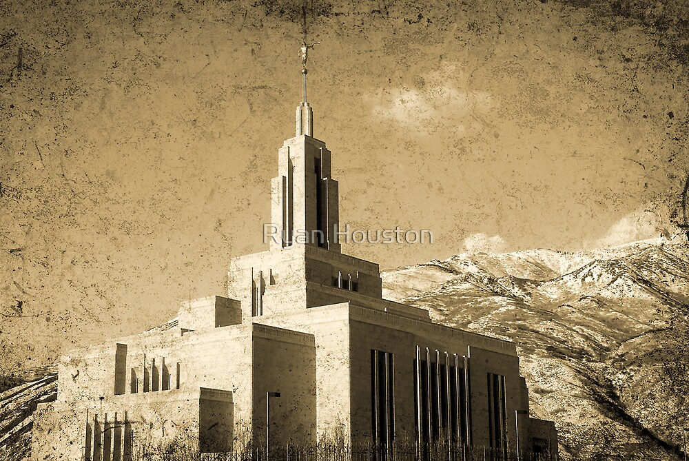 Draper Temple - The House of the Lord by Ryan Houston