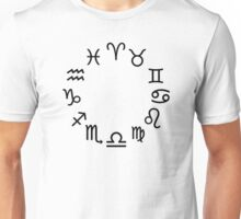 Zodiac signs Unisex T-Shirt